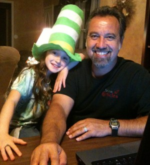 Paul Pavao and daughter Leilani