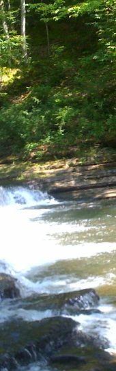 Shoal creek at Davy Crockett State Park in Lawrenceburg, TN