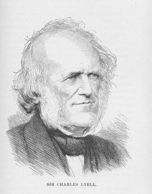 Charles Lyell, public domain, from Sarah Bolton's book _Famous Men of Science_