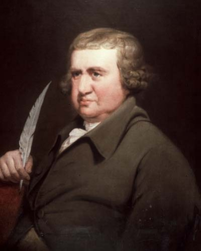 Erasmus Darwin painted by Joseph Wright in 1792