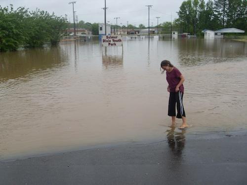 Selmer, Tennessee flood