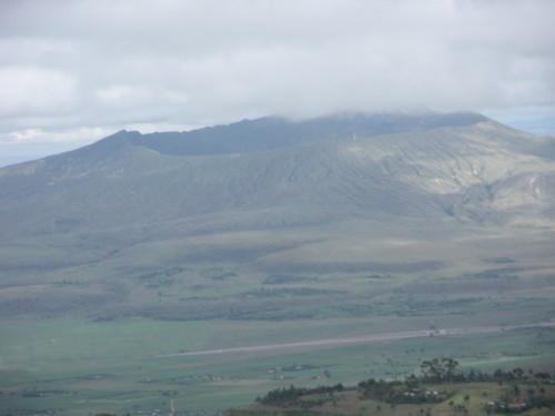 Volcano in the Great Rift Valley