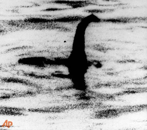 Admitted hoax image of Loch Ness Monster