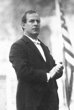 William Jennings Bryan campaigning for president in 1896